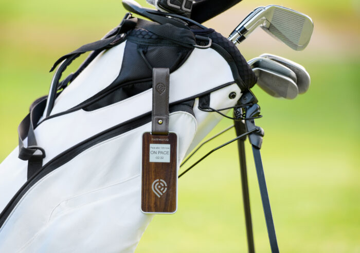 golf course pace of play tracking system