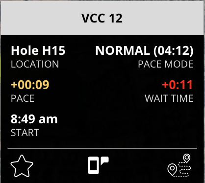 pace of play wait time reduction from fairwayiq for golf course and golf club